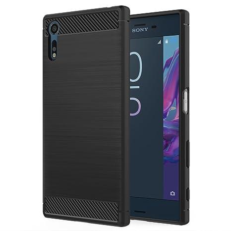 MoKo Sony Xperia XZ / XZs Hülle - Premium Ultra Slim Leicht weiches TPU Protector Phone Case Handy Schutzhülle Schale Bumper