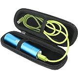 Khanka Hard Case Carrying Travel Bag for Anker PowerCore+ mini 3350mAh Premium Aluminum Portable Charger Lipstick-Sized External Battery 3350 Power Bank