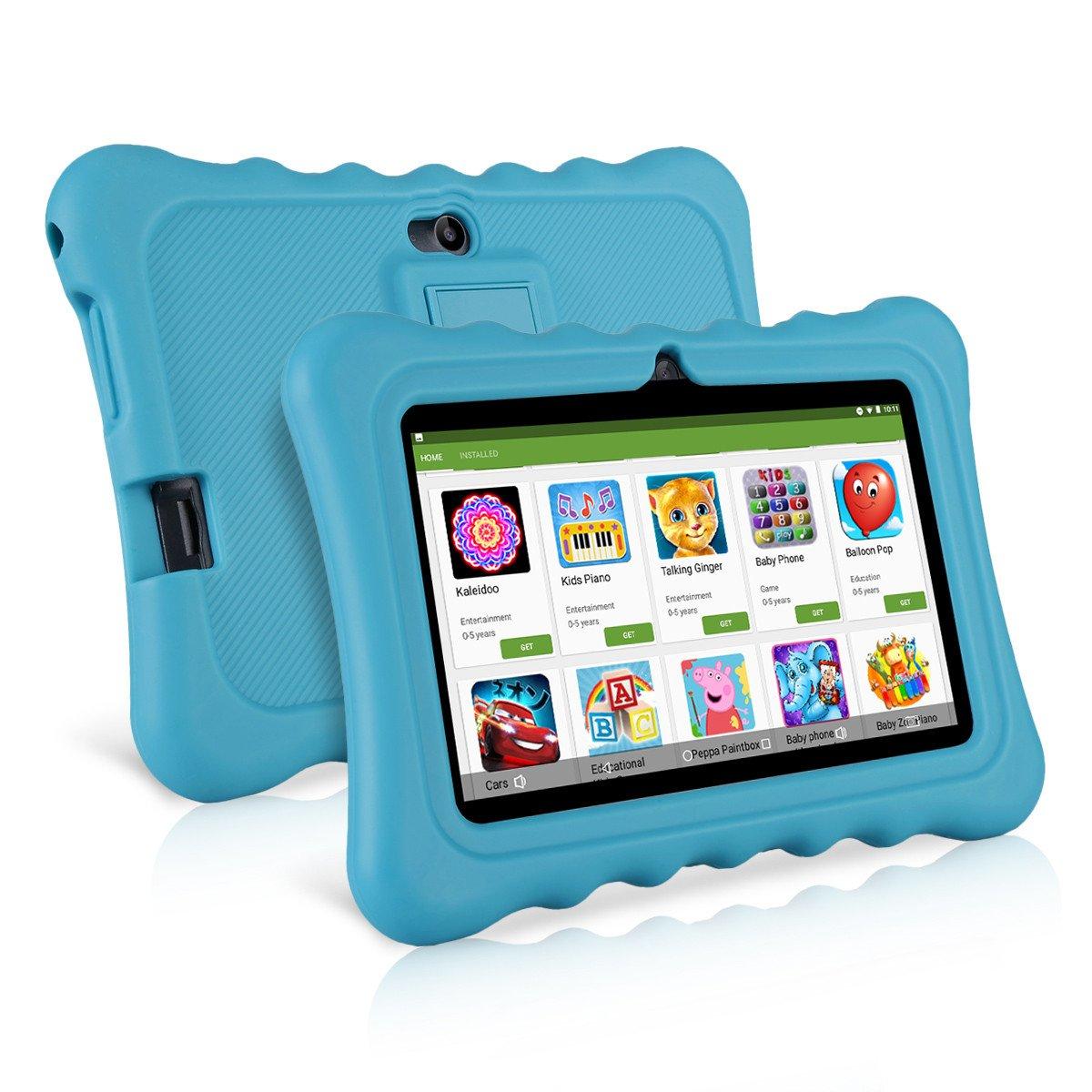 Ainol Q88 Android 7.1 RK3126C Quad Core 1GB+16GB 0.3MP+0.3MP Cam WiFi 2800Ah Tablet PC (Blue)