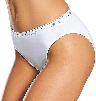 N 6 Slip Donna Sloggi 100 Tai Dalla Tg 2 Alla Tg 6 Colore Bianco 5 Amazon It Abbigliamento
