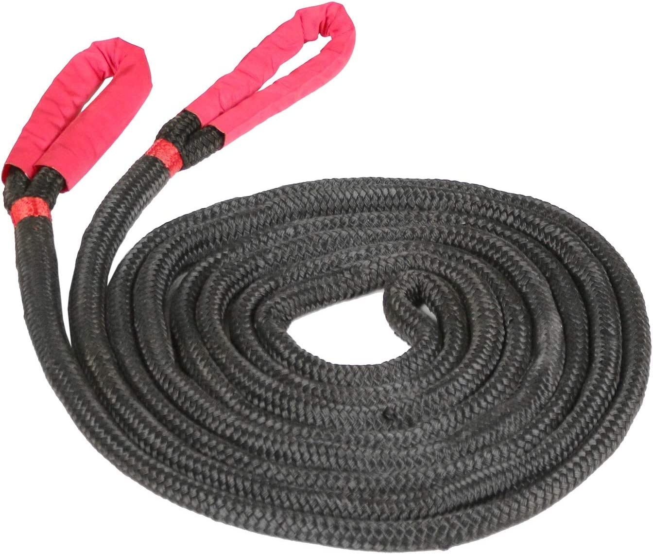 Black 3//4*30ft Recovery Rope,Recovery Energy Rope,Kinetic Recovery Rope