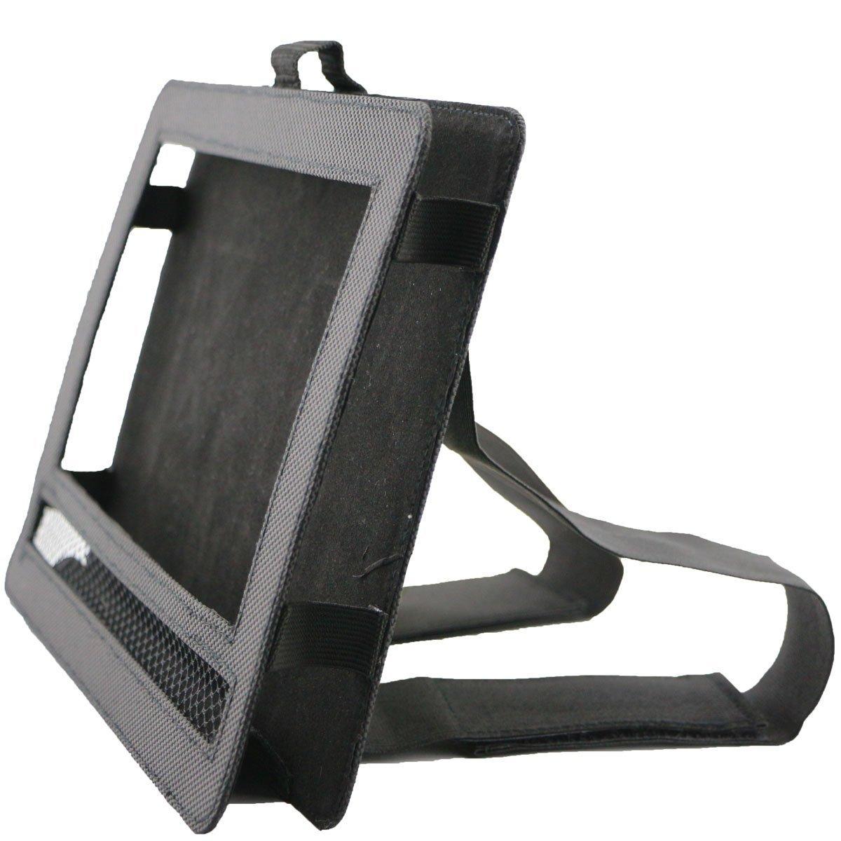 Car DVD Player Holder, Portable RevoLity 7-10.5 Inch Car DVD Headrest Mount Holder Strap Case Color Black (10-10.5 Inch)