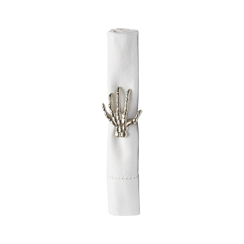 C& F Home Skelton Fingers Napkin Ring Single Napkin Ring Skelton Fingers C&F Enterprises