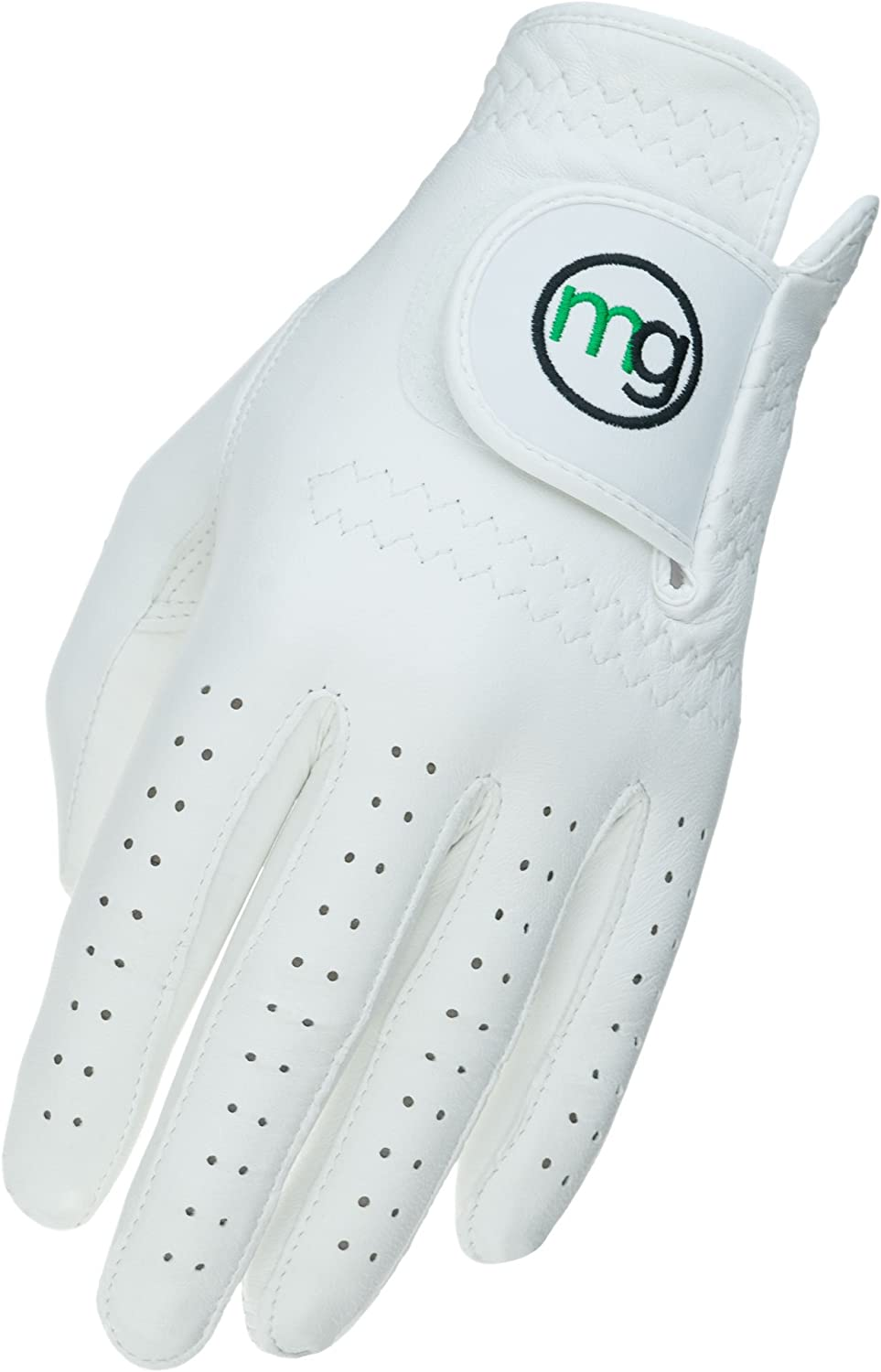 MG Golf Glove Mens DynaGrip All-Cabretta Leather (Regular Sizes)