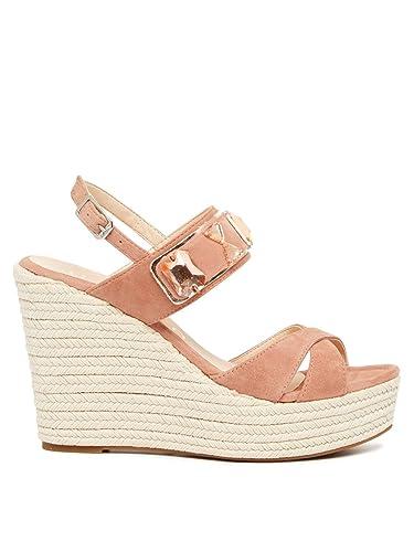 huge selection of 22052 5347e Unisa Schuhe Damen Sandale Pumps MOHIN KS Rosa Rose Women ...