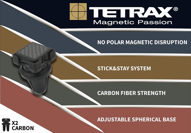 Tetrax tet10400/ /KFZ-Halterung Universal magnetisch Gitter-Luft und Armaturenbrett