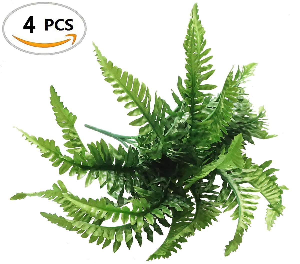 Fake-Faux-Artificial-Boston-Ferns-Plants-Greenery-Bushes-for-Indoor-Outside-Home-Garden-Party-Decor-4-Bunches-24-Leaves-Per-Bunch