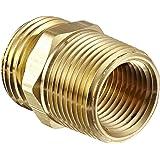 "Dixon BA776 Brass Fitting, Adapter, 3/4"" GHT Male x 3/4"" NPTF Male"