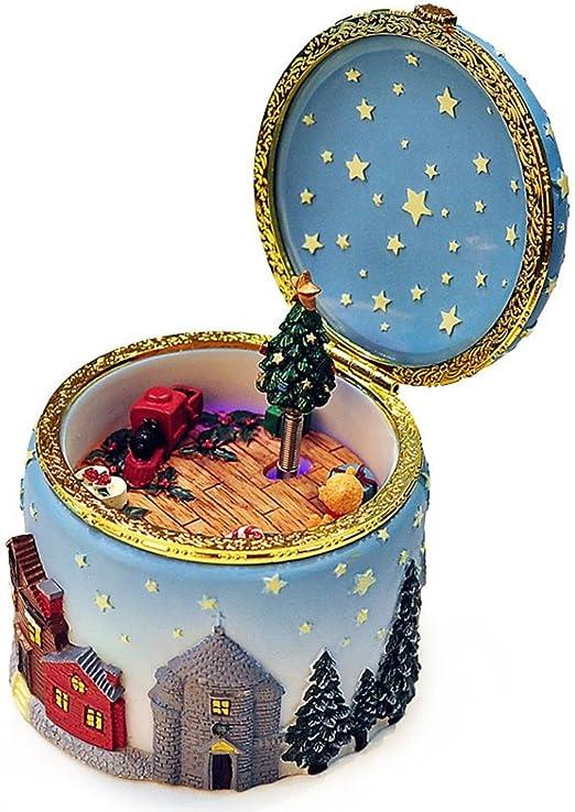 hunpta Caja de música, Navidad Alce árbol de Navidad Caja de ...