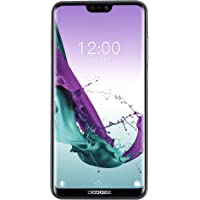 """DOOGEE N10 4G LTE Smartphone, Tela de 5,84 """" + Android 8.0 + Câmera 16MP + Cartões Nano SIM Duplos, Celular Desbloqueado à Prova d'água Ao ar Livre - Preto"""