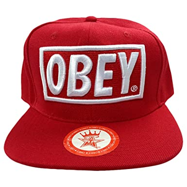 d0136f5a5722e Obey Adult Snapback & Hiphop Cap (127-4388, Multicolor): Amazon.in: Clothing  & Accessories