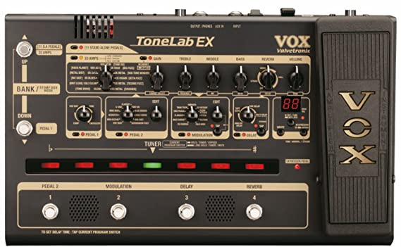 VOX TONELAB EX Guitarra rack multi-efectos de pedal: Amazon.es: Instrumentos musicales