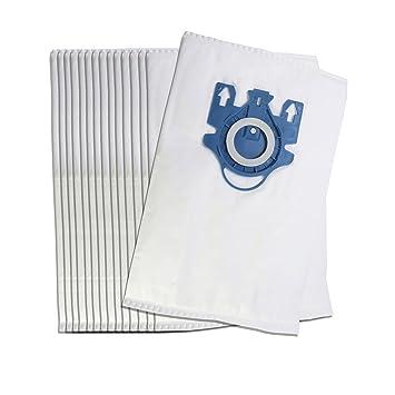Paquete de 10 bolsas de la aspiradora Miele S5210 S5261 & Dog TT 5000 Microfibras