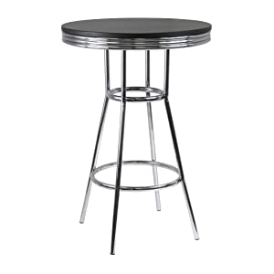 Winsome Wood 93030 Summit Dining Black