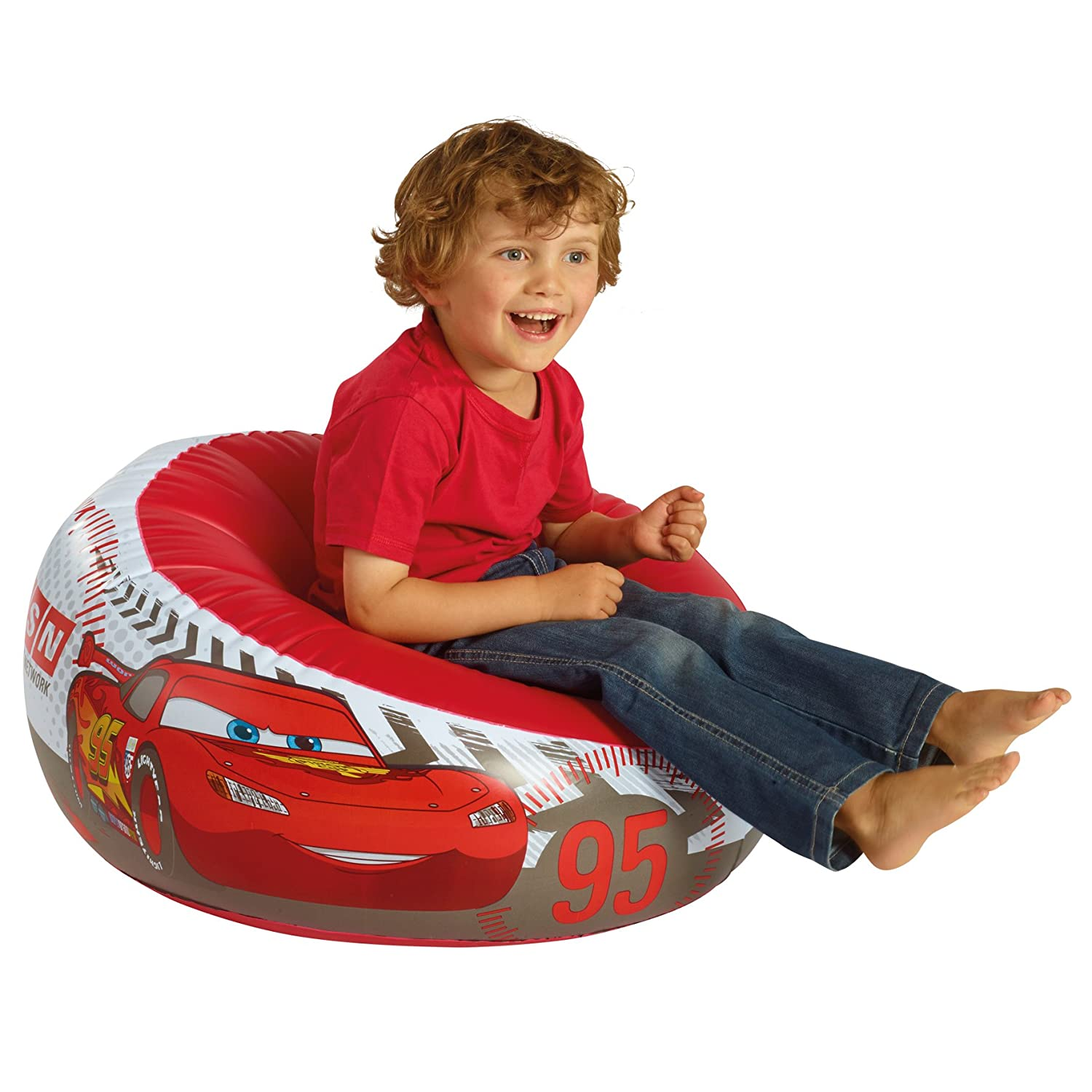 Disney Cars Inflatable Chair Amazoncouk Kitchen Home