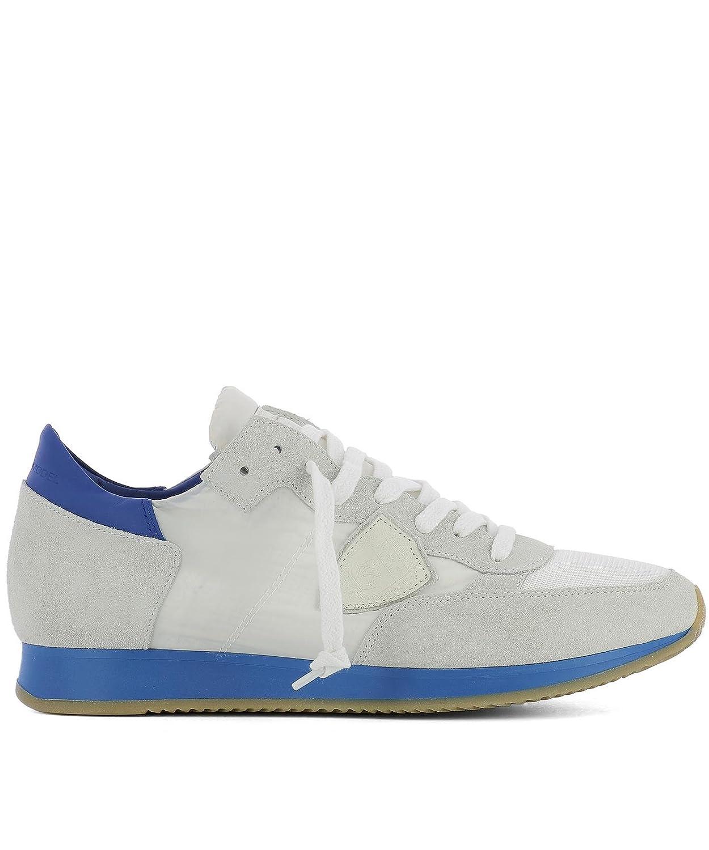 quality design 9eb78 0f295 Philippe Model Herren TRLUNS05 Weiss Stoff Sneakers 42 IT - Marke Gr  e 42  - sommerprogramme.de