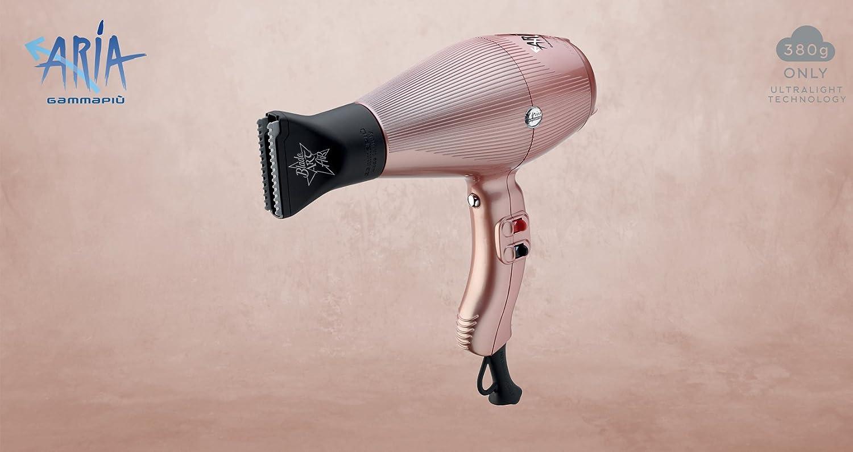 Gammapiu Secador aire Gold Rose secador Ultraligero 2200 W 380 gr: Amazon.es: Belleza