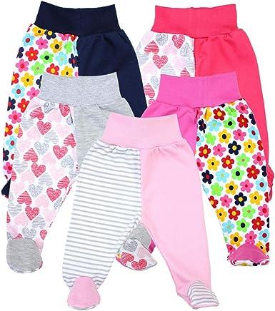 TupTam Pantalón con Pies de Bebé Pack de 5: Amazon.es: Ropa y ...