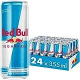 Red Bull Energy Drink, Sugar Free, 355 ml (24 pack)