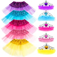 Princess Dress up Accessories Girl Gift Set Crown Tiara Dress up Toy Play Party Favors Costume for Girls