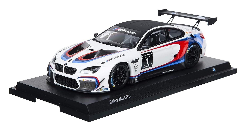 BMW, modellino auto M6 GT3 in miniatura, scala 1 18