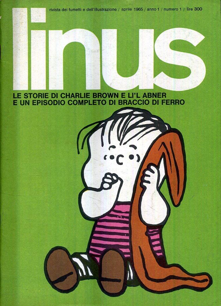 Amazon.it: F- RIVISTA LINUS ANNO 1 N.1 IL PRIMO NUMERO --- 1965 - S - HD159  - - Libri
