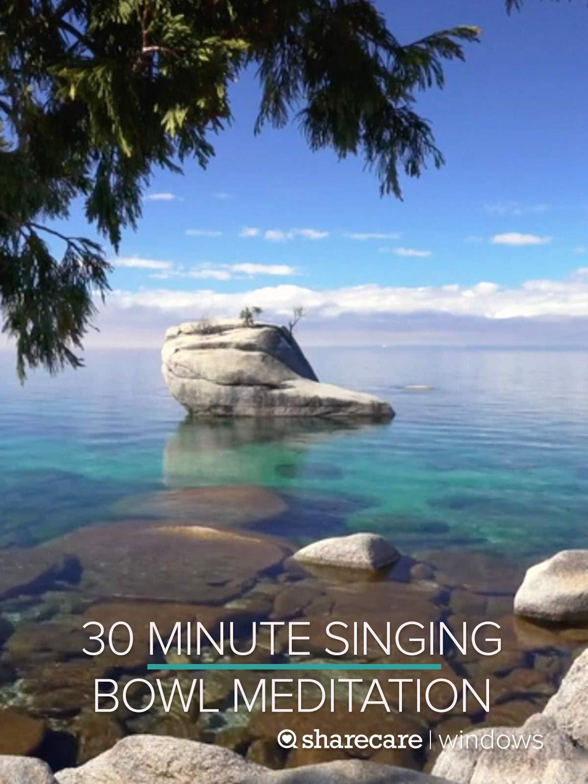 30 Minute Singing Bowl Meditation