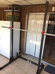 Amazon Com Cap Barbell Power Rack Exercise Stand Deluxe