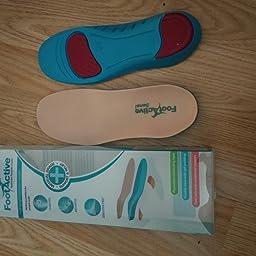 Artritis Plantillas suaves para pies sensibles /¡Fant/ásticas para uso diario! FOOTACTIVE SENSI espolones y problemas comunes de pies Pie Diab/ético