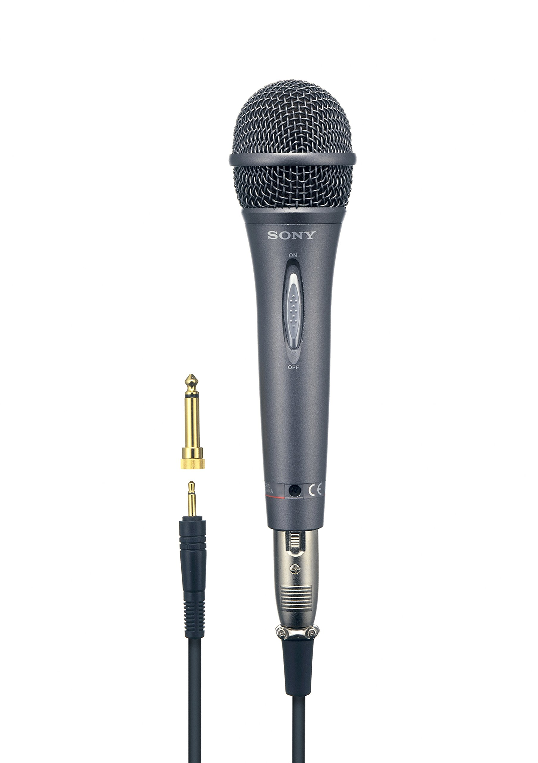 Sony F-V420 Uni-Directional Vocal Microphone with Gold-Plated Mini-Plug by Sony