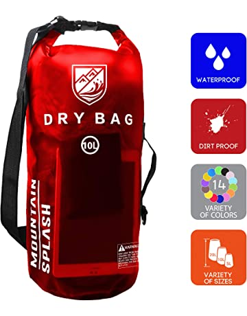 cec27e9d2cd4 Waterproof Dry Bag 5L 10L 20L-Water Resistant Lightweight Backpack with  Handle-