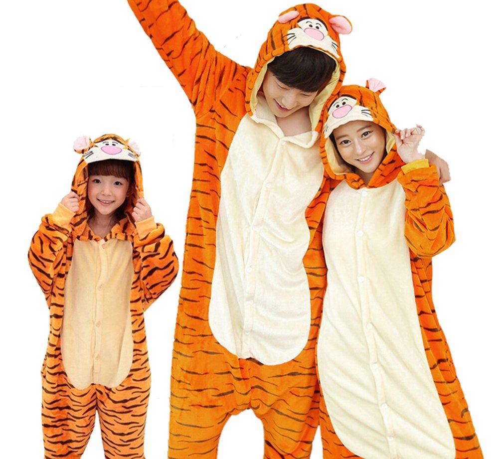 Warm Sleepwear Kid Adult Halloween Cosplay Pajamas Costume Kigurumi CLOHO