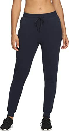 CQC Women's Active Yoga Jogger Pants Cotton Lounge Sweatpants Running Workout Athletic Pants with Pockets