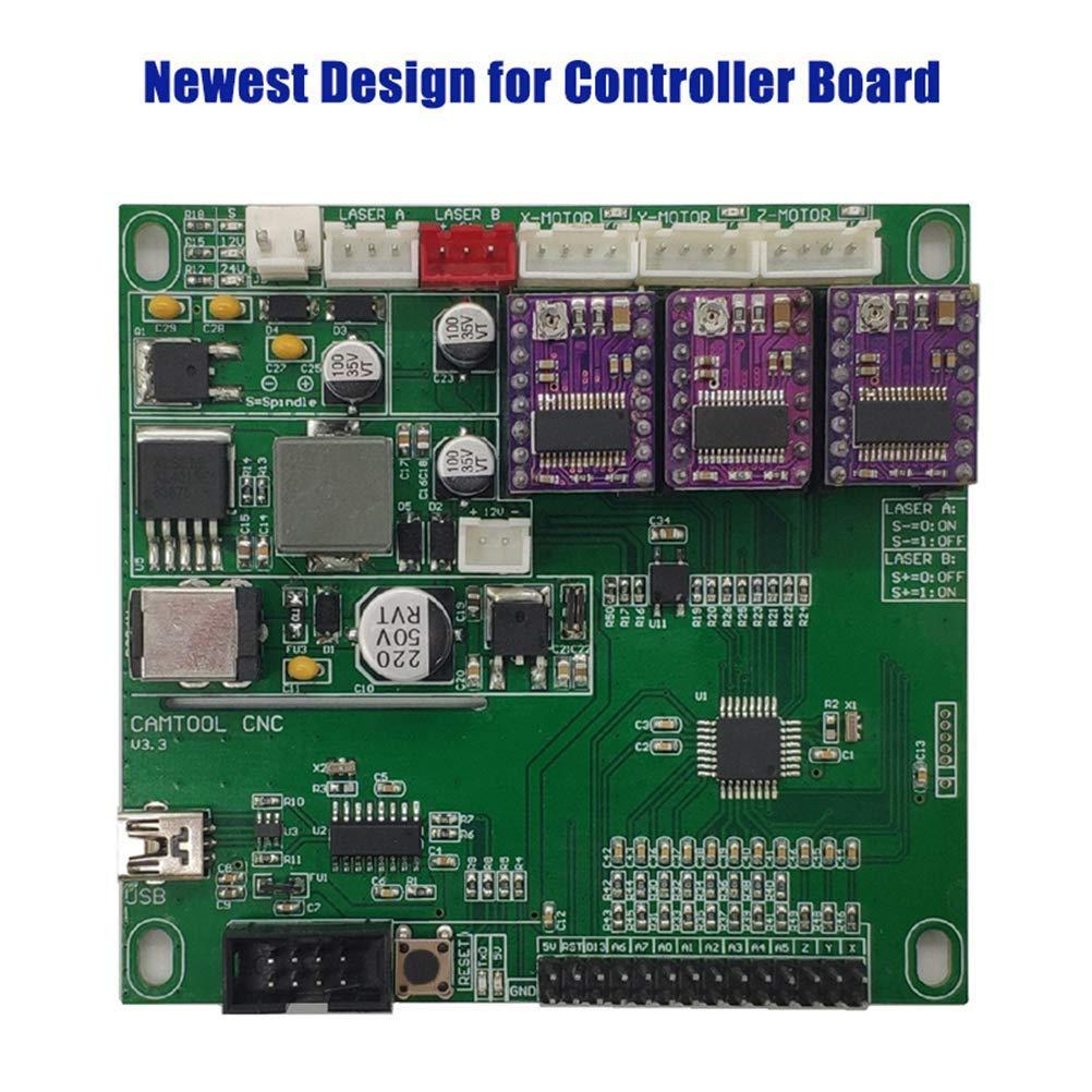 F-Yi GRBL CNC Engraving Machine Control Board,3 Axis Control Board,DIY Laser Engraving Machine Control Board