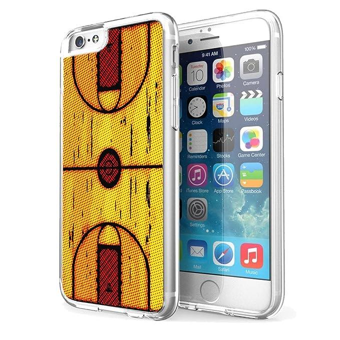 Carcasa para iPhone 6 Plus, diseño de Aros de Baloncesto: Amazon ...