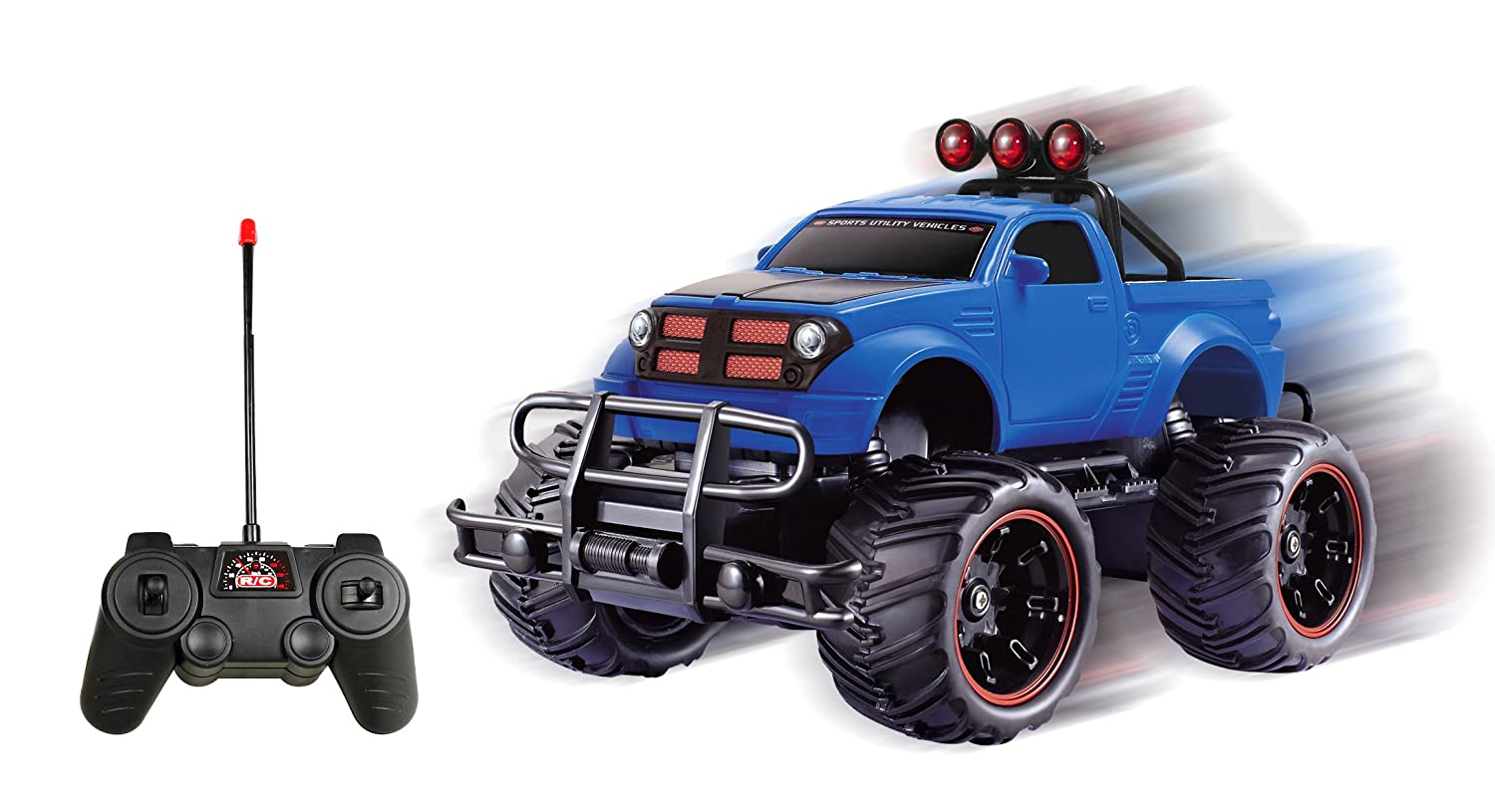 free shipping r c monster pickup truck remote control rtr electric