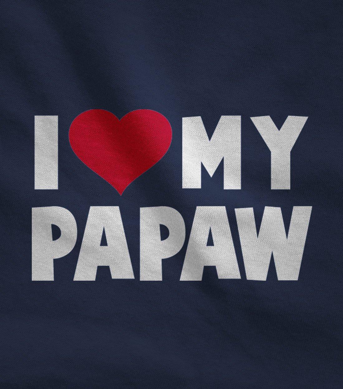 TeeStars – I Love My Papaw for Grandpa Baby Bodysuit