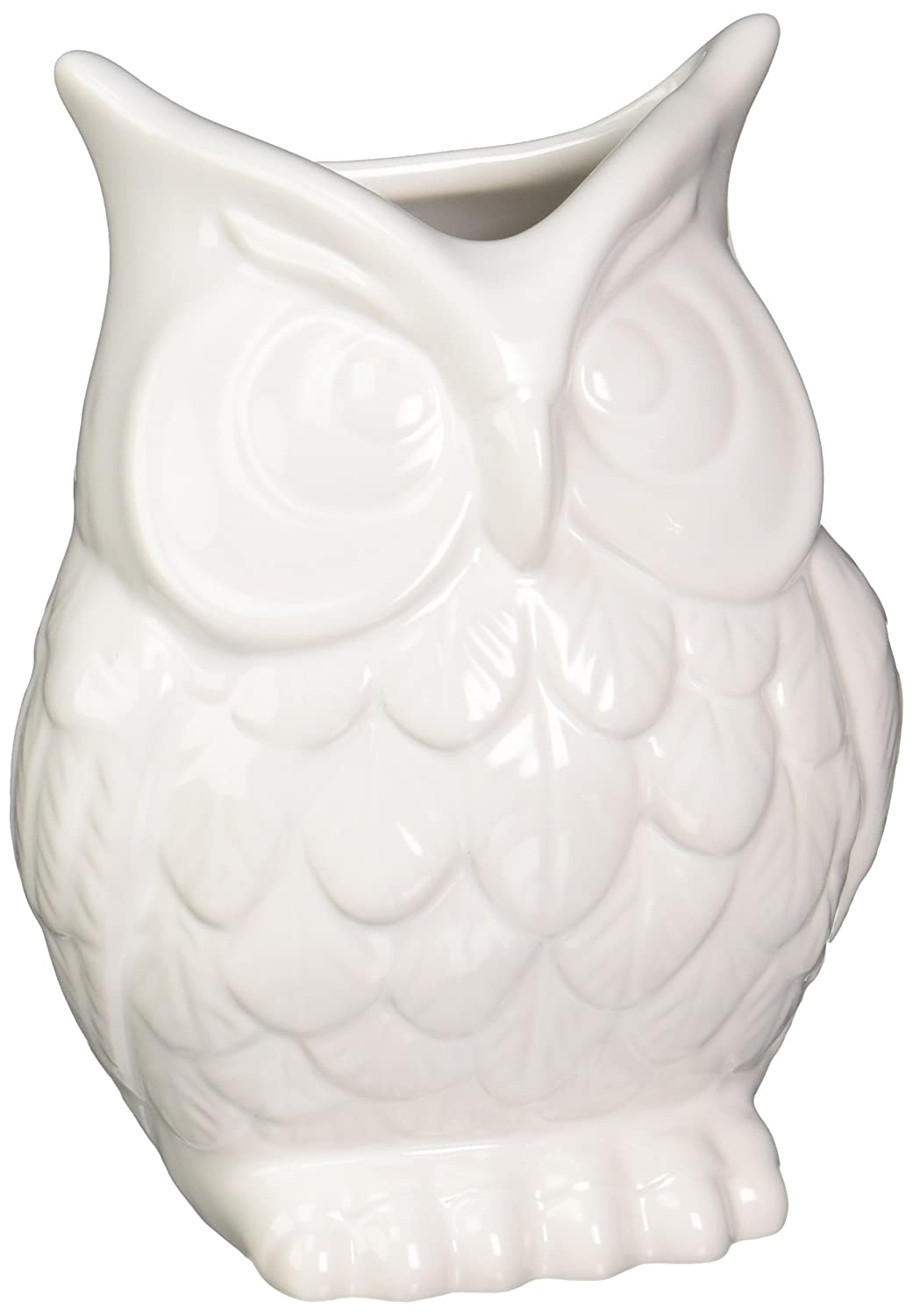 Vases amazon home decor abbott ceramic owl vase white reviewsmspy