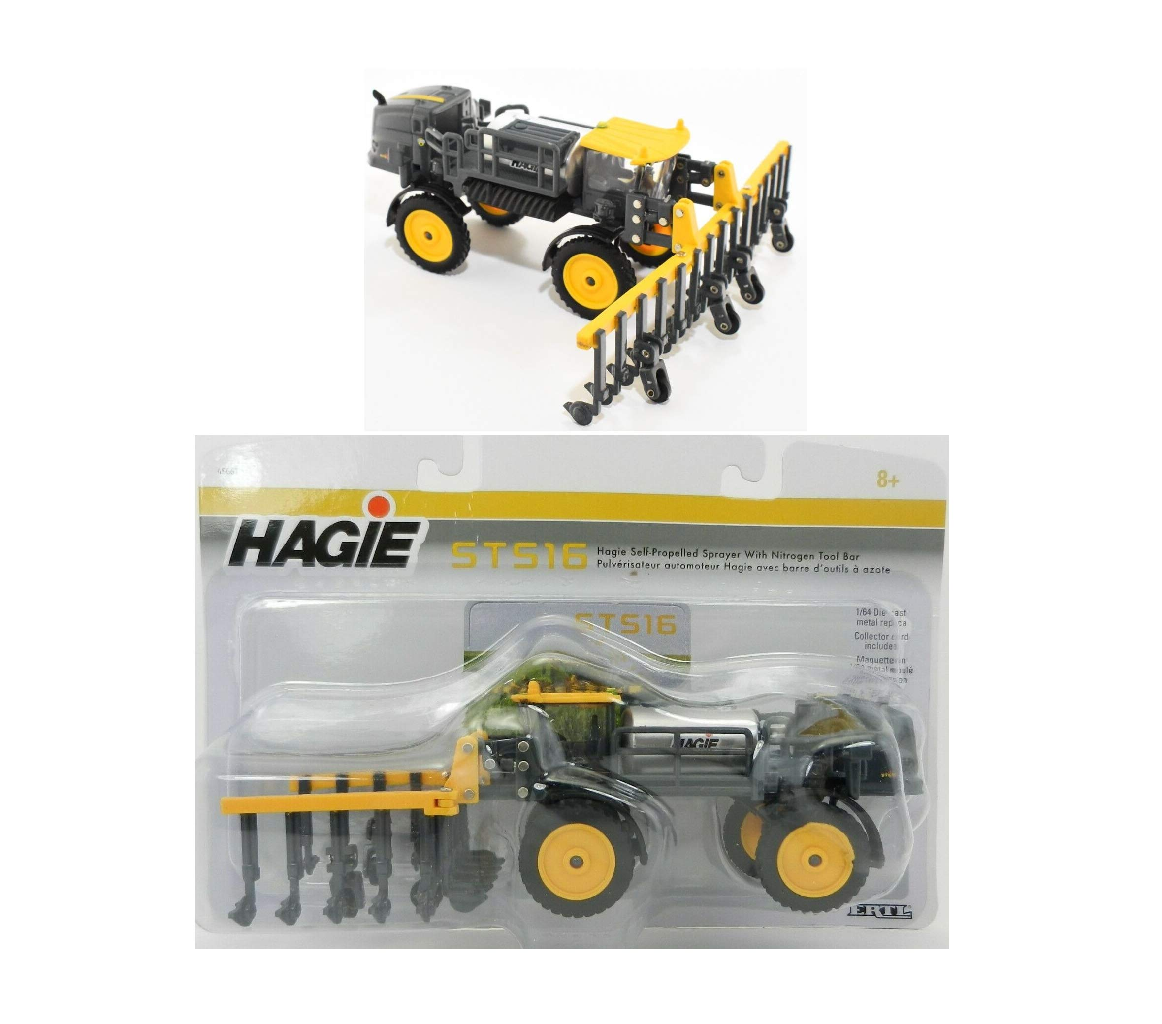 2019 1:64 HAGlE STS16 Self-Propelled Sprayer w/NITROGEN Tool BAR NIP Rare Collect Diecast Vehicle Toy