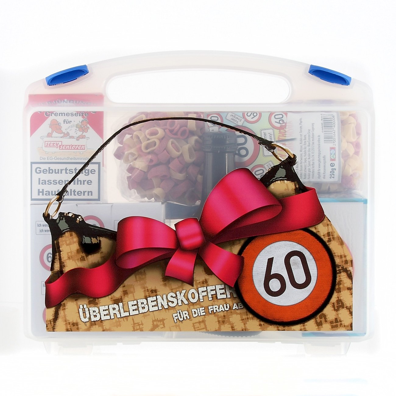 Lustige Apotheke Überlebenskoffer für die Frau ab 60 (8 teilig) Lustapotheke®