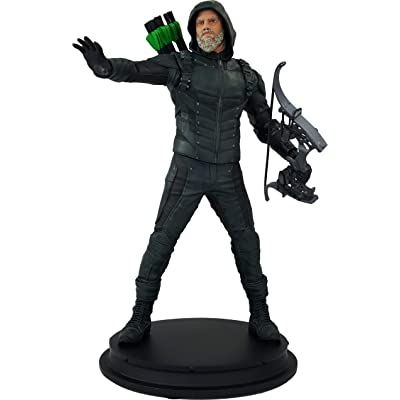Icon Heroes Dctv Arrow Star City 2046 Arrow Deluxe Statue, Multicolor: Toys & Games