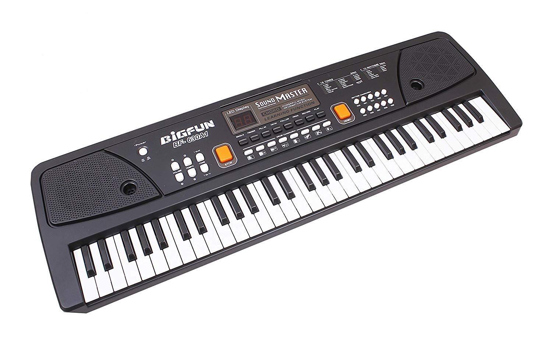 Buy AtoZ BIGFUN Piano Keyboard 61 Keys Toy (BF-630A1) LED