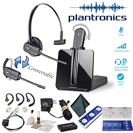 7d24851a9cc Amazon.com: Plantronics CS540 Wireless Headset System Bundle (Standard  Bundle): Electronics