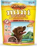 Zuke's Mini Naturals Dog Treats, Savory Salmon Recipe, 6-Ounces