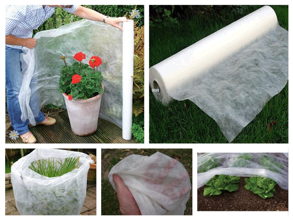 10M x 1.6M Frost & Insect Protection Sheet Roll Garden Plants Crop Fleece Protection ViT-Agro