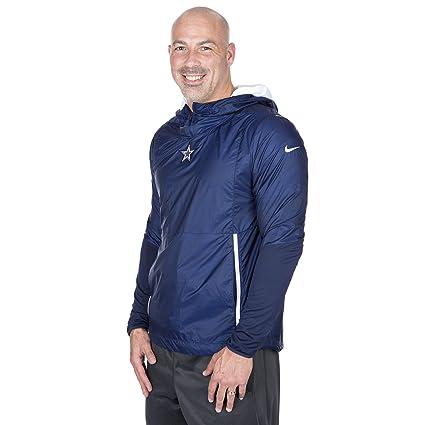 half off 2d837 39e4d Amazon.com : Dallas Cowboys Nike Fly Rush Jacket Navy, XXX ...
