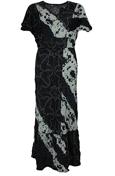 competitive price b05d2 19146 LAUREN VIDAL Damen Kleid Gr. XXL, Ocean: Amazon.de: Bekleidung