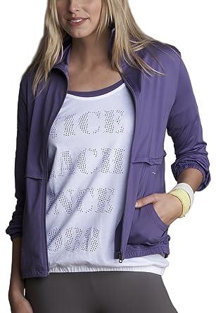 Venice Beach Reena Mujeres Chándal Superior Morado Purple ...