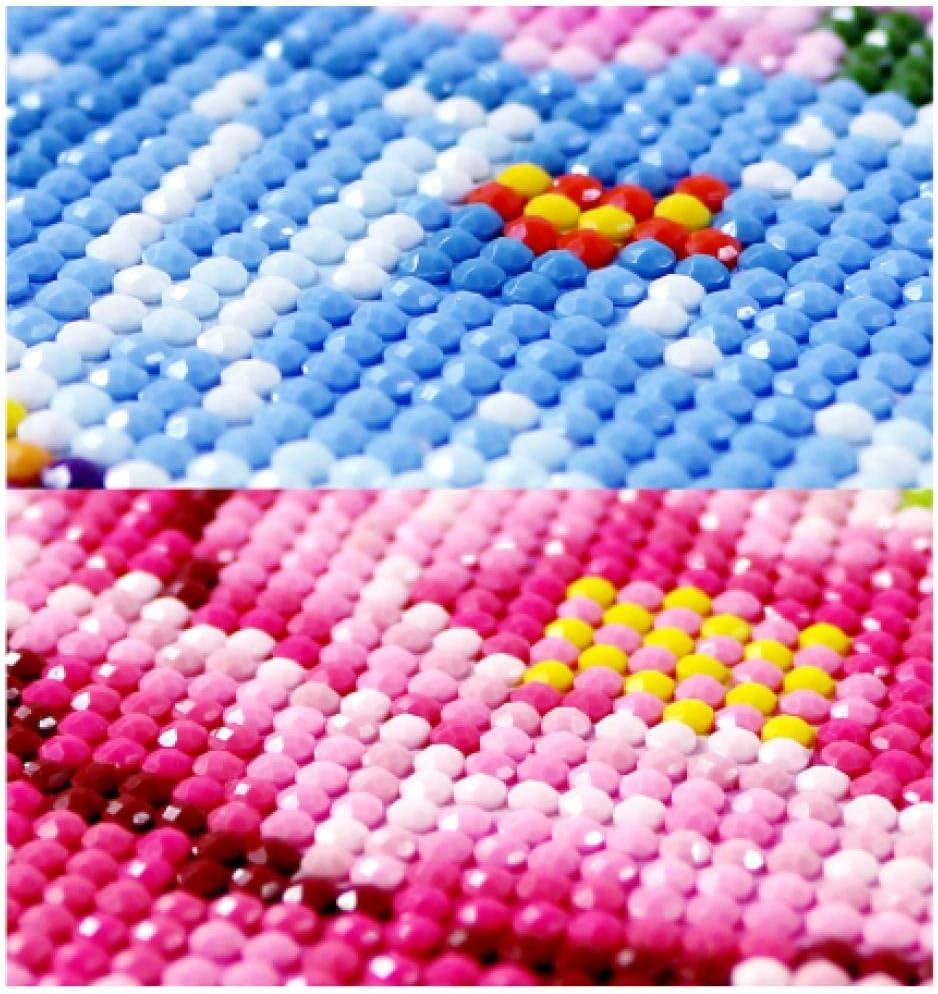 25 Cm HRYM Paysage De La Ville Plein Diamant Rond 11D Bricolage Diamant Peinture Kit Diamant Art Diamant Peinture Sac Diamant Mosa/ïque Artisanat Broderie D/écoration De La Maison 20