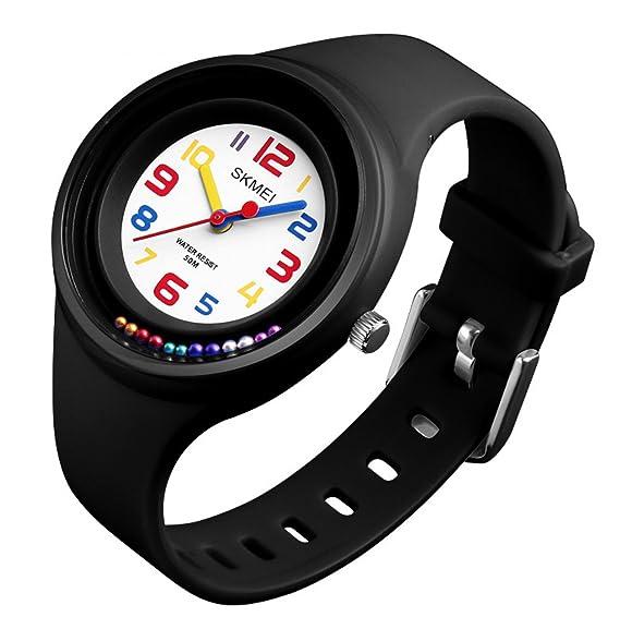 4ba55fd48492 Amazon.com  Boys Girls Watches Wristwatches